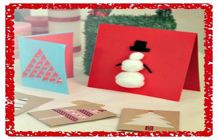 Dise os de tarjetas navide as mis manualidades para navidad - Postales navidenas para hacer ...