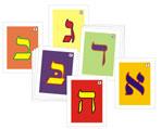 Cartas Alef Beit 12 x 7.5 ctms. (Jgo.de 28)