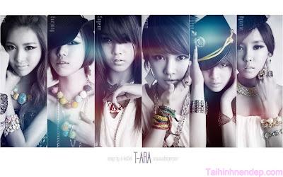 Ảnh đẹp về nhóm nhạc T-Ara