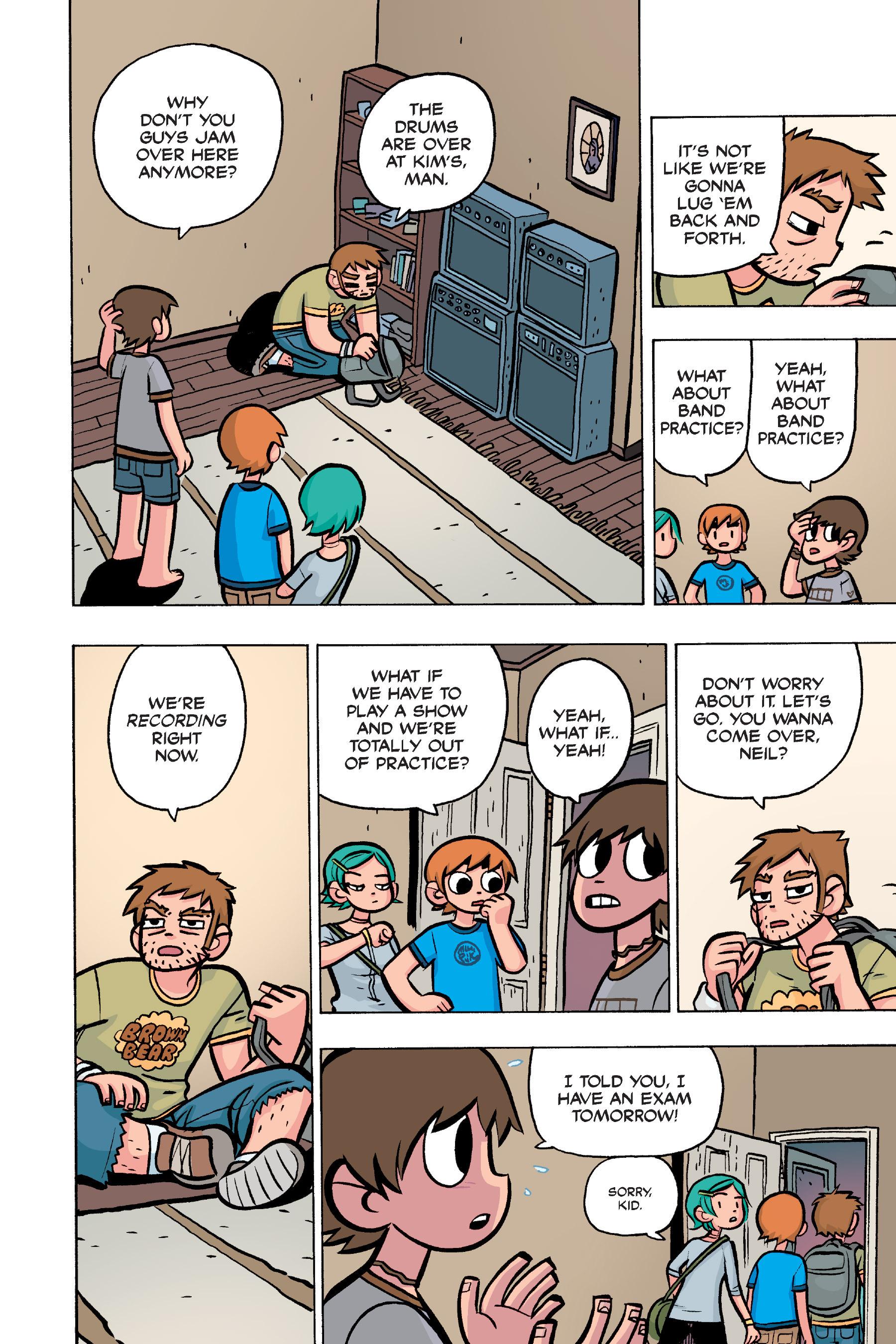 Read online Scott Pilgrim comic -  Issue #4 - 75