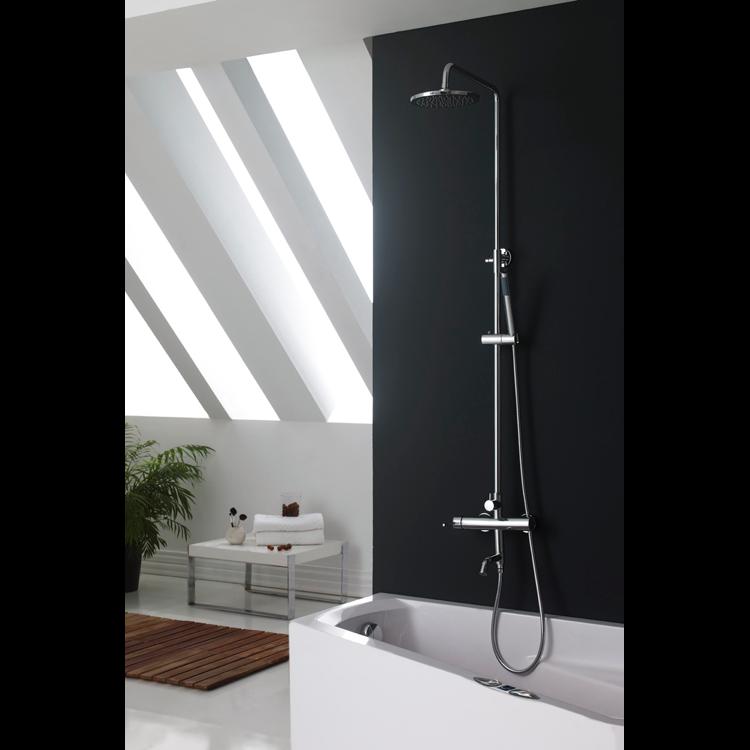 Grifo ba o rustico precio monomando tu cocina y ba o - Rociador ducha pared ...