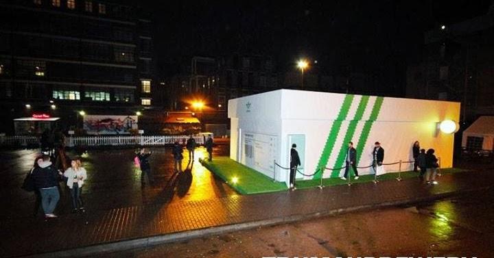 Adidas Shoebox Shop london pop-ups: the adidas stan smith sneaker box pop-up shop in