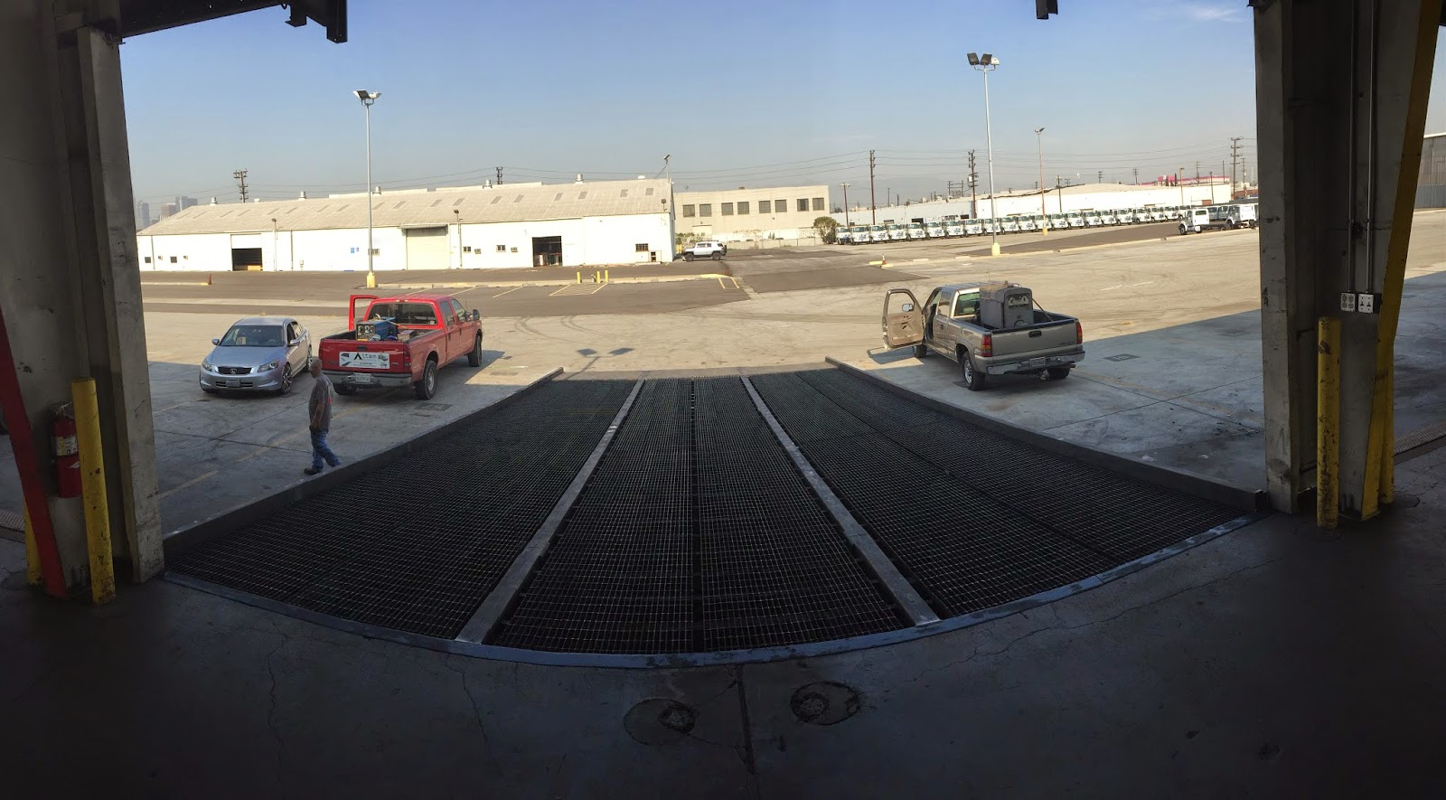Industrial yard ramps for Top quality motors east grand forks