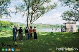 LA MIRADA DE L'ARTISTA activitat de l'Ajuntament de Banyoles 2015