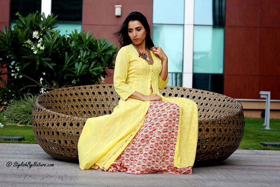 Indian ethnic wear hot fashion trends biba stylish by nature by
