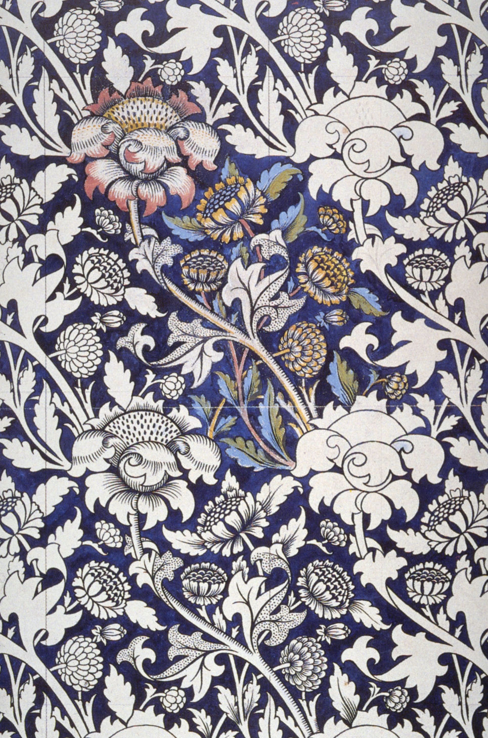 Art artists william morris wallpaper textiles for Fabric printing