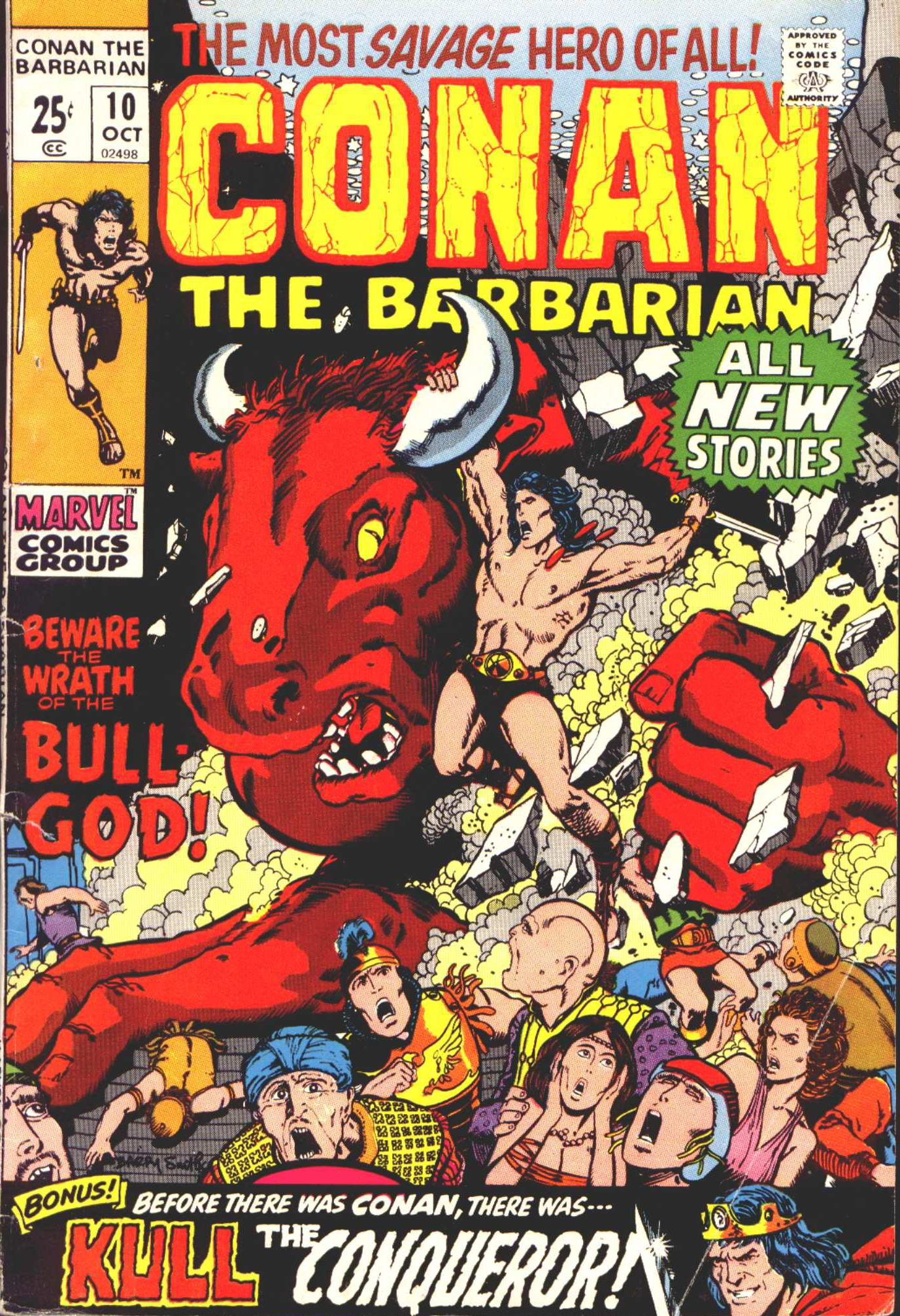 Conan the Barbarian (1970) 10 Page 1