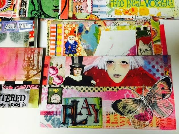 Handmade Art Envelopes/Cards