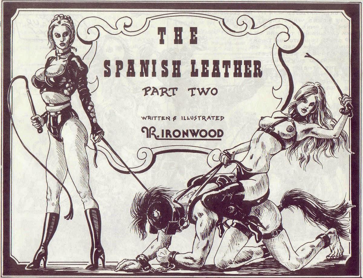 ironwood spanish leather femdom comic