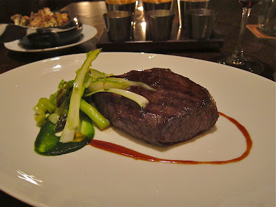 Wagyu Flat Iron at Bourbon Steak