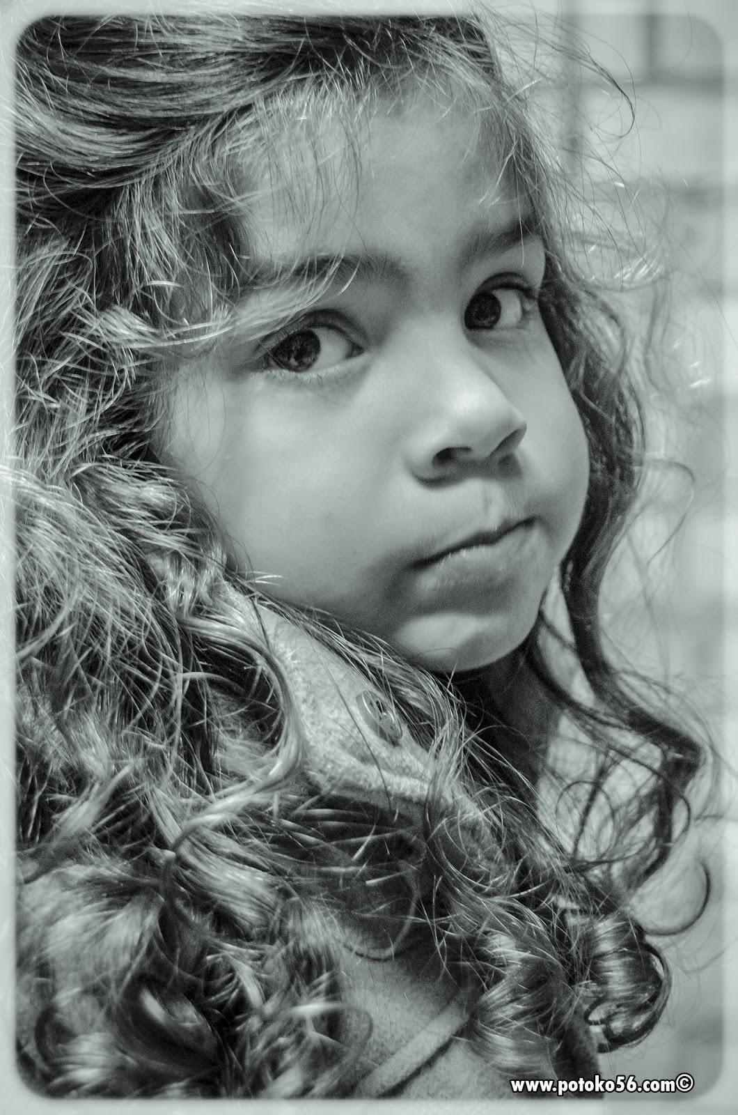 La hija de un amigo en los pasados carnavales en Rota
