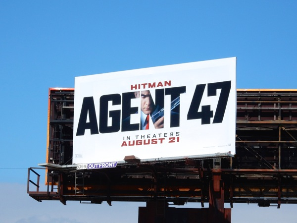 Hitman Agent 47 billboard