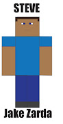 Minecraft's Steve (illustrator). Posted by JakeZ at 11:39 AM