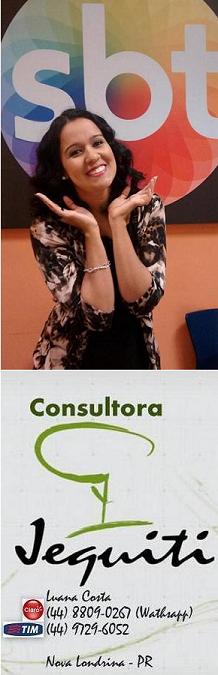 Luana Costa - Consultora Jequiti