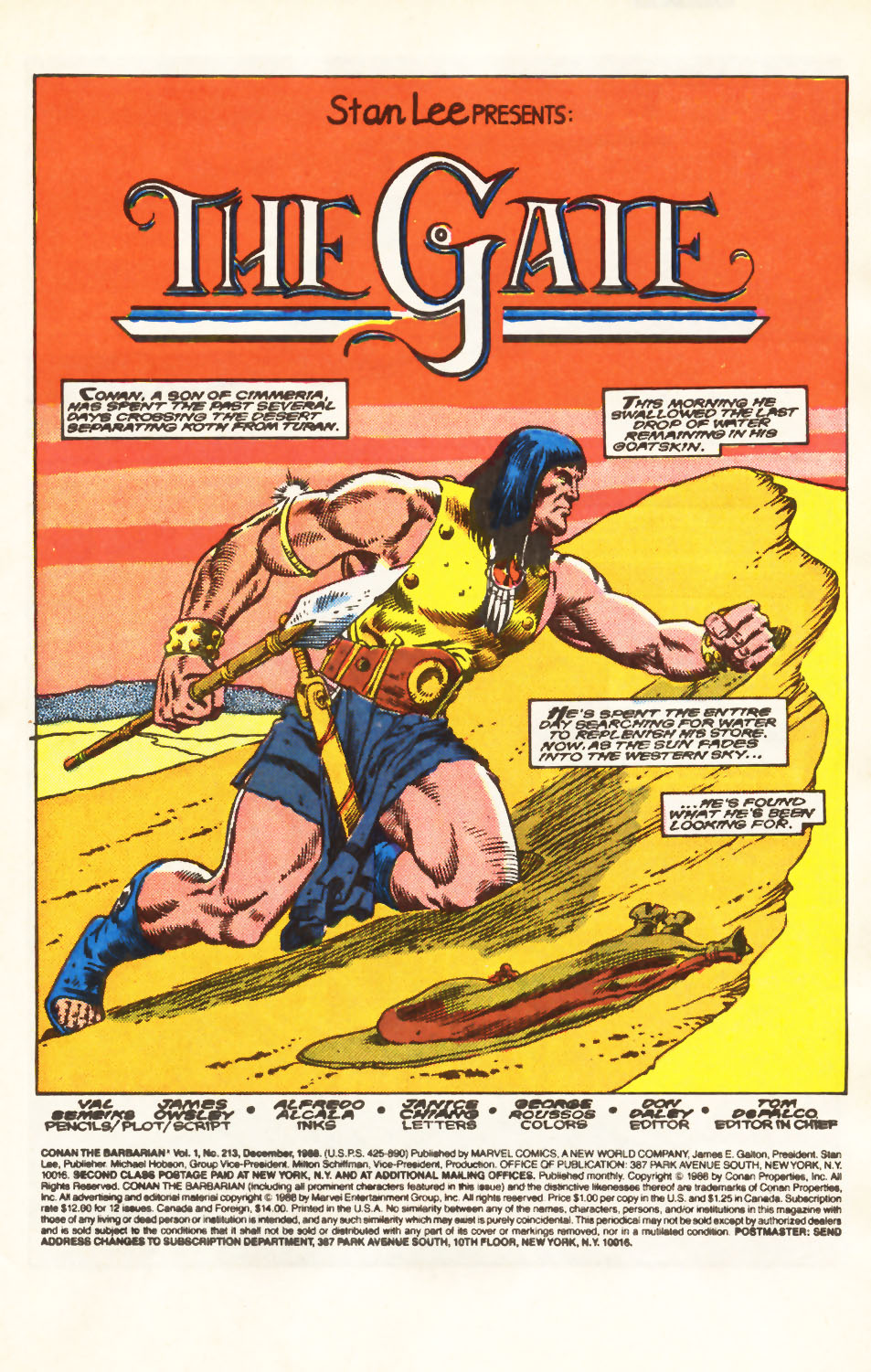 Conan the Barbarian (1970) Issue #213 #225 - English 2