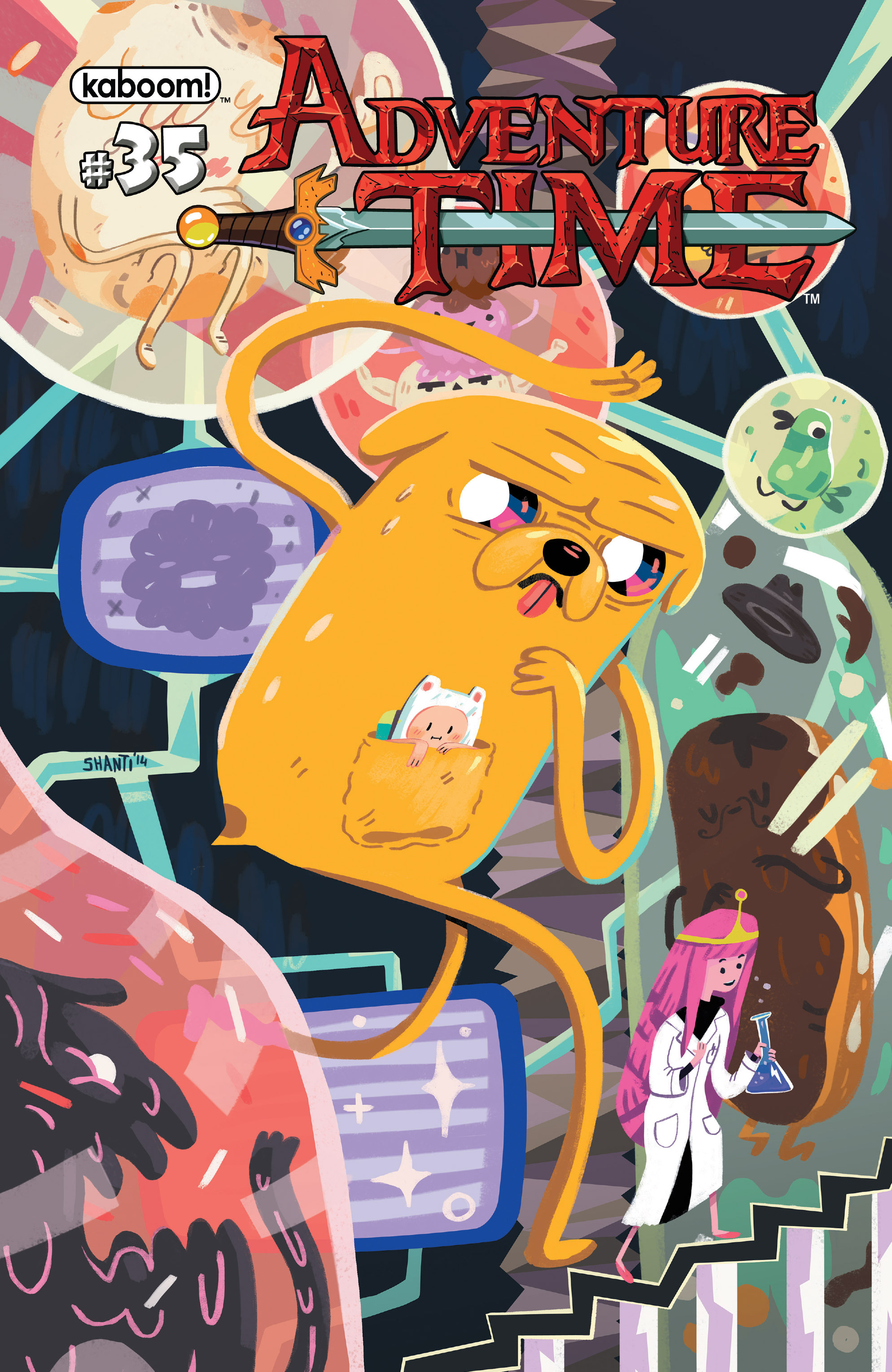 Adventure Time 35 Page 1