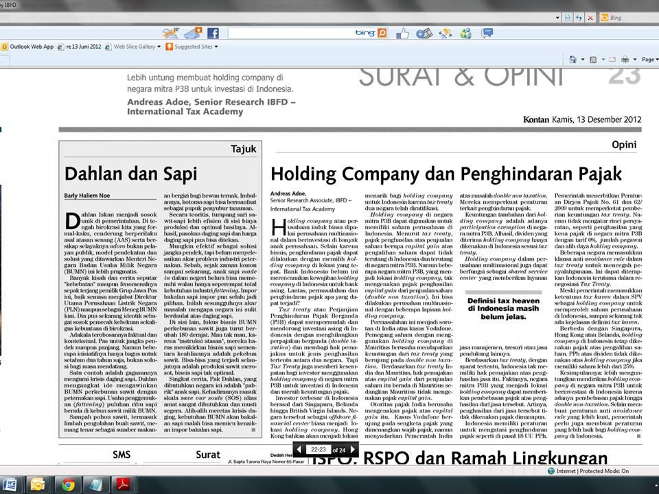 tax treaty indonesia singapura Sebagai contoh, berikut ini pasal 5 ayat (4) tax treaty indonesia – china : menyimpang dari ketentuan-ketentuan sebelumnya dari pasal ini,.