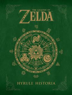 hyrule historia covert art Review   The Legend of Zelda: Hyrule Historia