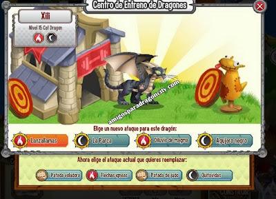 imagen de los ataques del dragon gato