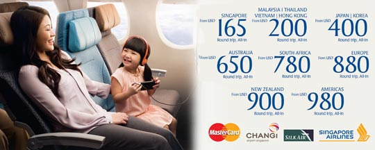 BPI Credit Card: Around the World with BPI MasterCard and Singapore Airlines