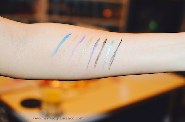 Jordana Cosmetics: Swatches