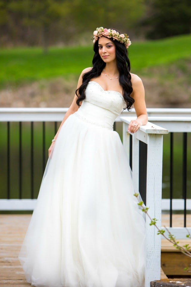 Bride Chic The Blushing Bride