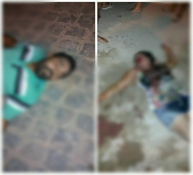 Casal é executado a tiros em Itabaiana