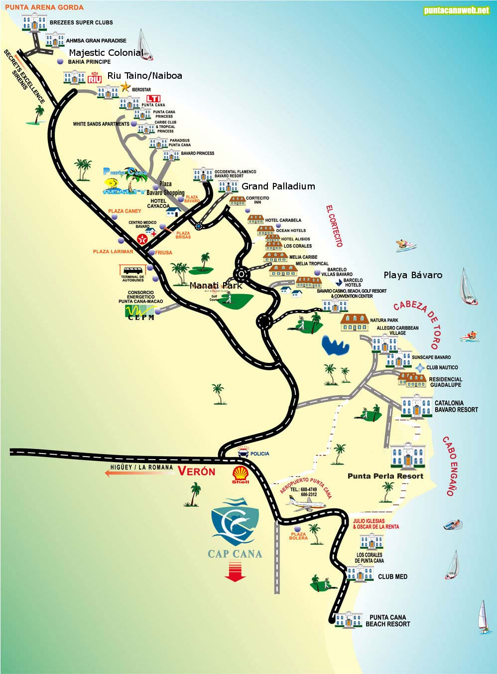 Viajes Y Turismo Alrededor Del Mundo Punta Cana