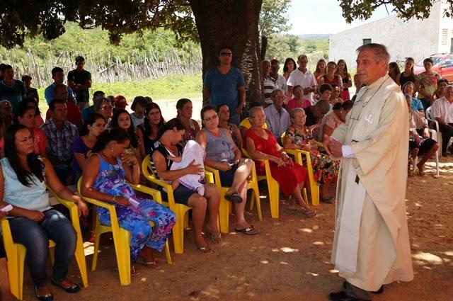 Gentio do Ouro – Povoado de São Gonçalo vive momento histórico ao receber Celebração feita pela Diocese de Barra