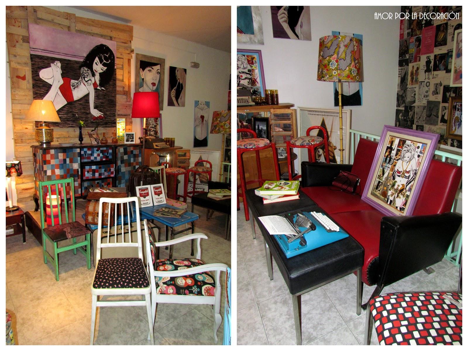 Del Gallo Una Tienda De Decoraci N Retro Fashion Amor Por La  ~ Tiendas De Decoraciã³n En Madrid