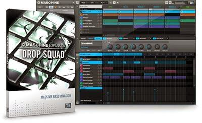 Native Instruments Maschine Expansion Drop Squad