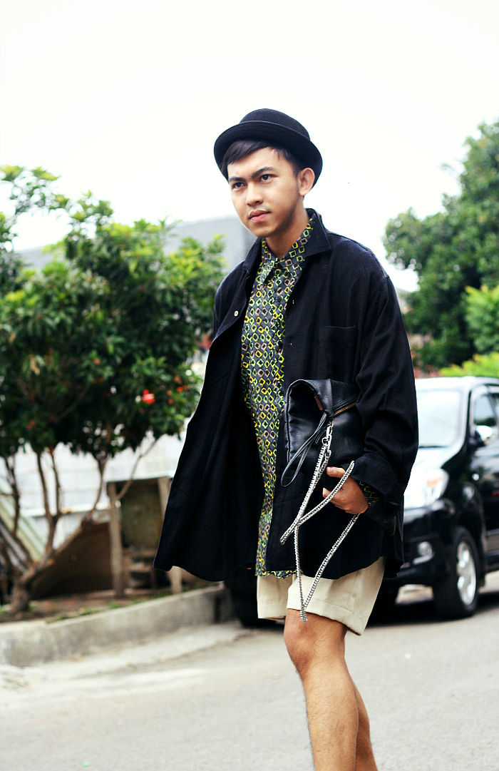 MEN'S FASHION BLOGGER INDONESIA IN COMME DES GARCONS