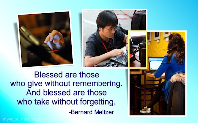 blessed are those who gives without remembering' /></a></td></tr> <tr><td class=