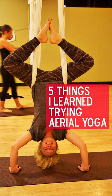 5 Things I Learned Trying Aerial Yoga