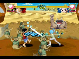 Free Download Games One Piece Grand Battle II ISO PS1 ZGASPC Bonus Emulator