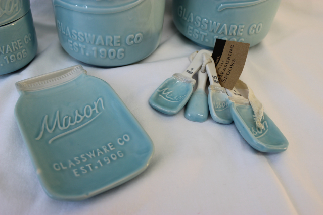 #Giveaway - World Market Mason Jar Kitchen Decor - www.kathewithane.com