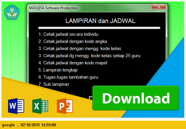 download aplikasi jadwal pelajaran smp microsoft excel gratis tp 2015 operator sekolah excel. Black Bedroom Furniture Sets. Home Design Ideas