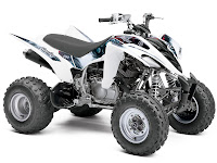 Yamaha pictures 2013 Raptor 350 ATV 2