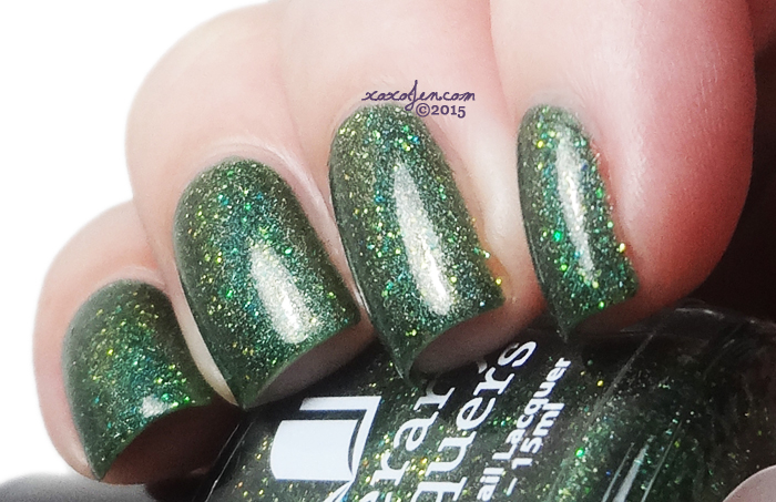 xoxoJen's swatch of Literary Lacquers Leaves of Grass