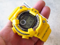 CASIO G-SHOCK FROGMAN GF-8250E-9DR YELLOW - TOUGH SOLAR - RARE - LNIB