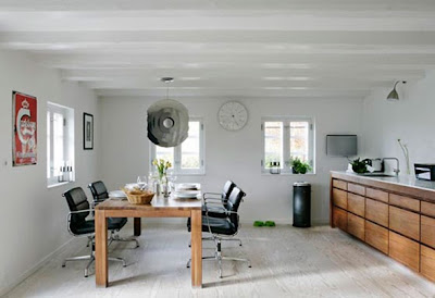 interior casa de campo