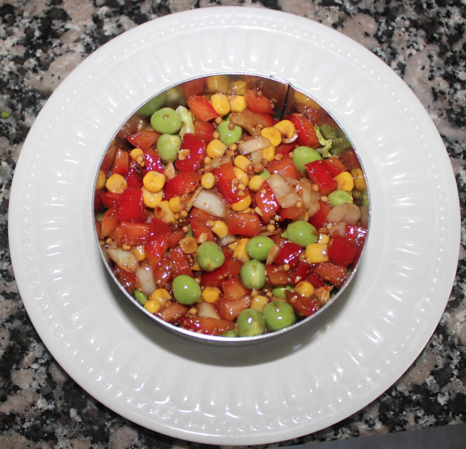Cocinar es vivir y bordar tambi n ensalada de guisantes for Cocinar guisantes frescos