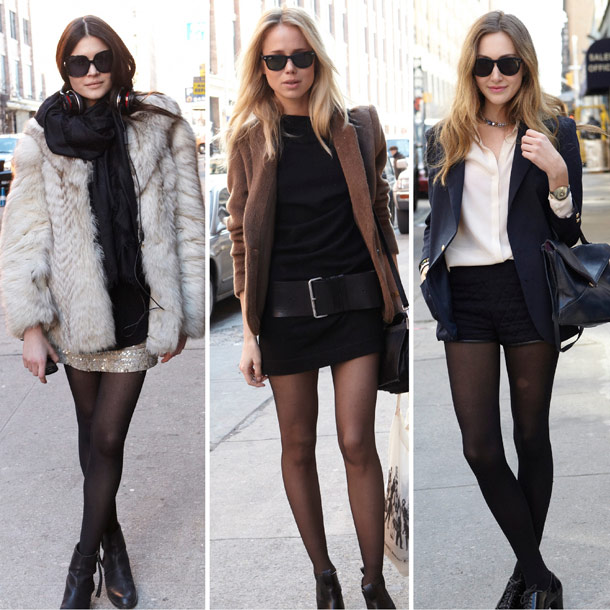 What 2 Wear When...: ...you are curious about black stockings.
