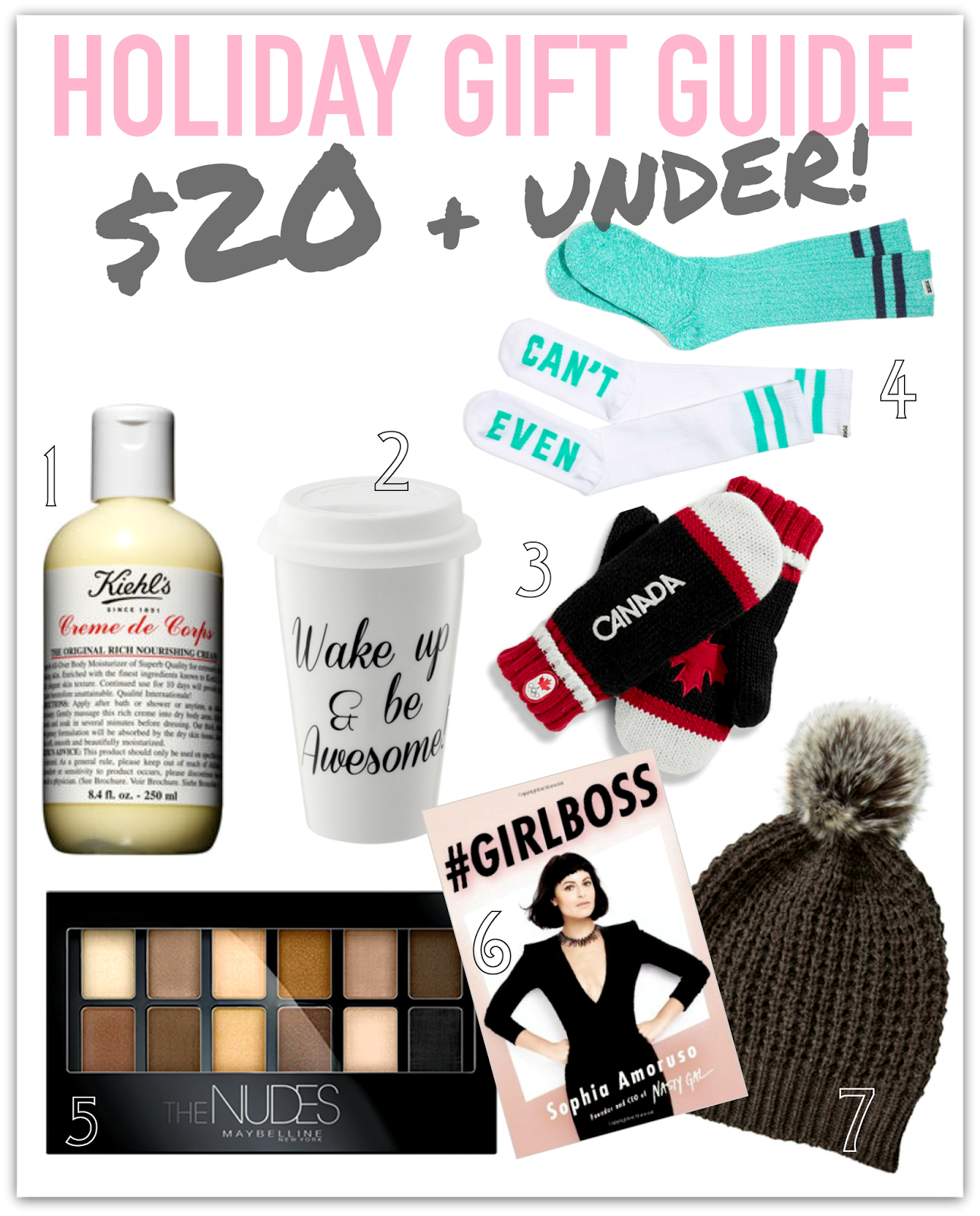 HOLIDAY GIFT GUIDE 2014: $20 & Under! – Rach Speed