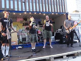 20.08.2015 Dortmund - Leonie-Reygers-Terrasse: The Grabowskis