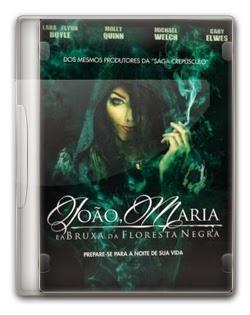 João e Maria e a Bruxa da Floresta Negra Dublado