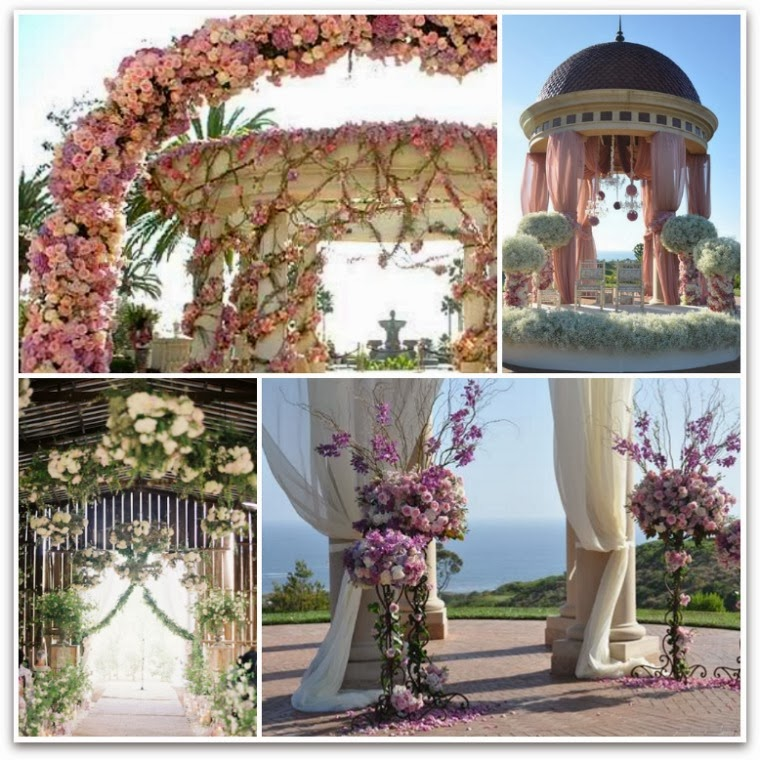 The autumn wedding wedding ceremony decoration inspiration for Altar wedding decoration