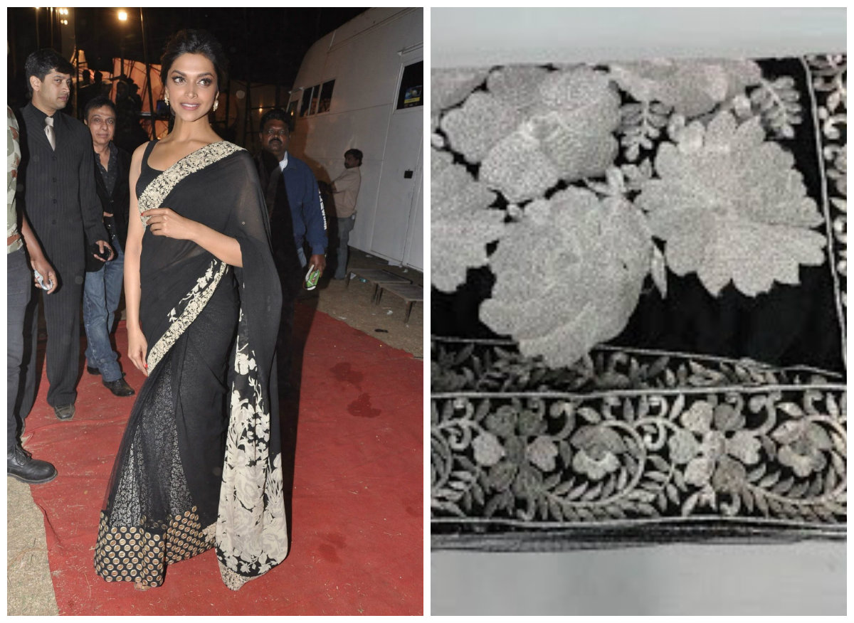 Deepika Padukone, craftsville.com, indian ethnic, saree