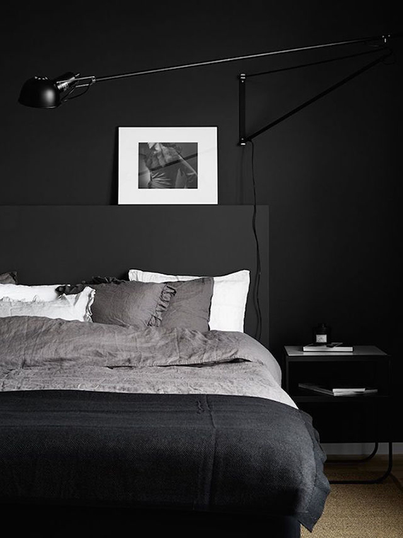 Dark bedrooms inspiration | Pella Hedeby