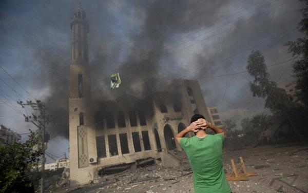 Imam Syafi'i Mosque, Gaza, Palestine